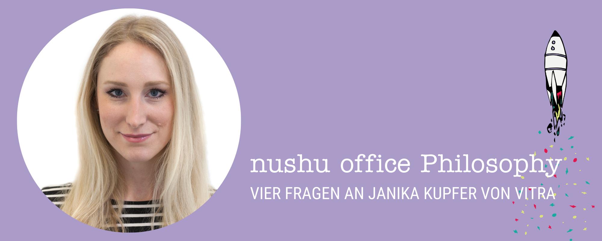 4 Fragen an Janika Kupfer von vitra